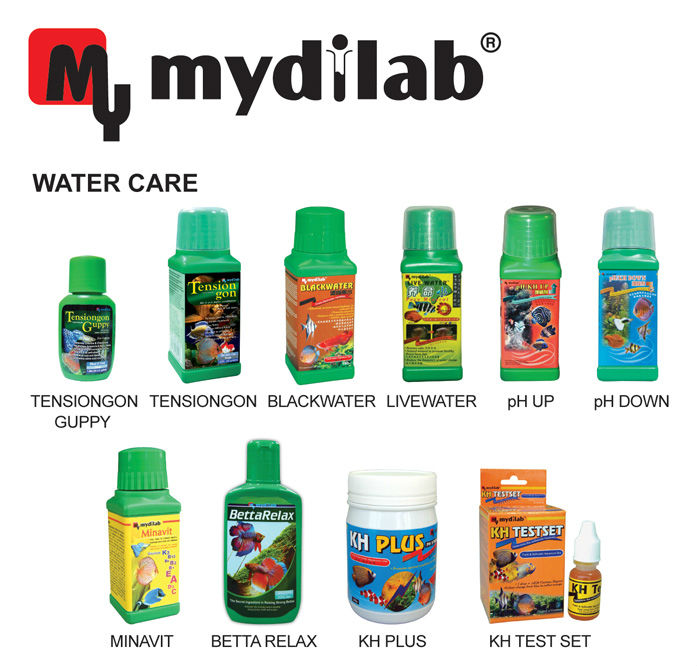 My Mydilab Water Care Products