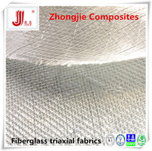 +45/-45/0 degree design 450g fiberglass triaxial fabric ELTX450