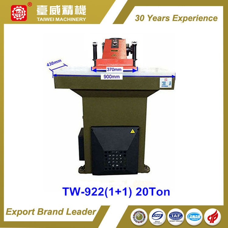 Shoemaking Hydraulic Swing Arm Clicker Press Cutting Machine Price