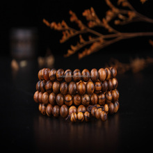 chinese supplier Natural Buddha rosary wooden bead bracelet handmade
