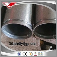 Origin China grooved ends low carbon hot dipped galvanized steel tube 8 inch / Gi pipe