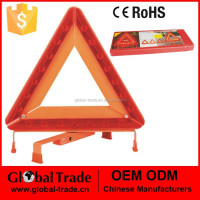 Warning Triangle with LED Light.Emergency Warning Sign Triangle folding Reflective Hazard Breakdown Kit .A0979