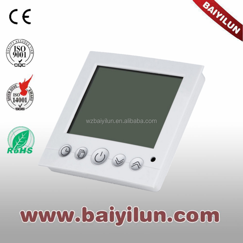 NEW electric thermostat for floor heating;Large screen LCD controller