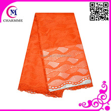 Recently fashion new design waves fabric nigeria guipure lace for party wholesale