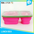 New design cheap silicone military lunch box