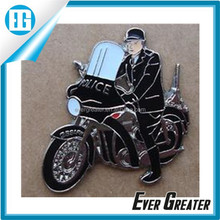 2014 Promotion products metal motorcycle badge, cheap motorcycle lapel pins, motorcycle emblem