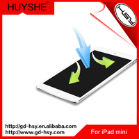 HUYSHE 0.3mm ultra thin best quality tempered glass screen protector guard for ipad mini