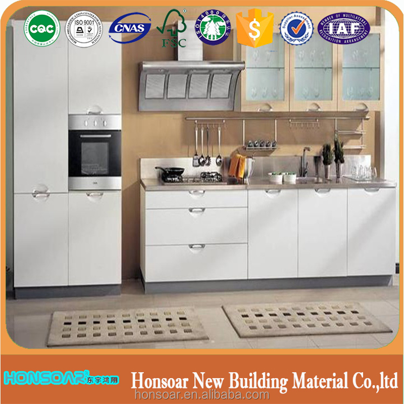 Bestselling melamine used functional kitchen cabinets from Honsoar factory