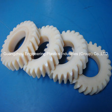 Wholesale flexible industry use polyamid hard big nylon plastic helical gear wheels for marine industries