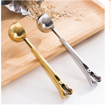 coffee tea measuring spoon with clip