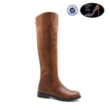 brown leather horse riding boots