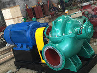 volute-split casing municipal water pump for boats