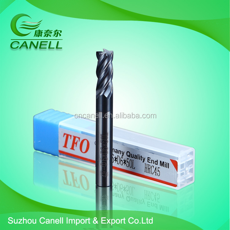 Different sizes Tungsten Carbide Cutters/ Altin end mill