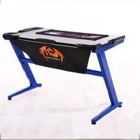 Hot selling in Amazon computer gaming table Latest Design Big Lots Computer Table Desk With Led Lights Supplier&Seller&Factory