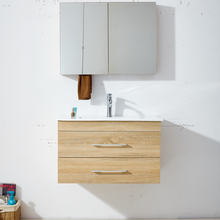 Wall Mount 2 Drawer Hanging Cabinet New Commercial Bathroom Vanity Units With Mirror Cabinet Basin