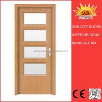 SC-P164 Wholesaler prices european style fiberglass interior door