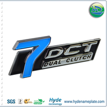 fashion and decoration custom design plastic ABS car emblems logo