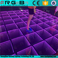 Square shape led stage lights LED 3D dance floor