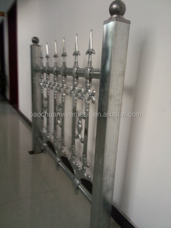 wrought iron steel <strong>point</strong> used wrought iron fencing for sale