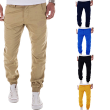 Popular Style Customized Color Sweatpants Mens 100 Cotton Twill Jogger Pants