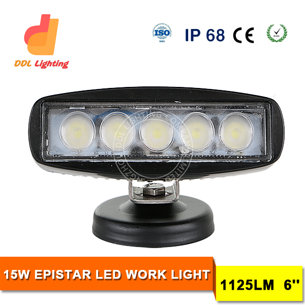 new products auto parts DRL daytime running 15w 6 inch led fog light/fog lamp/car driving light car new led light