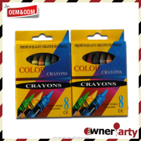 Water Soluble Multi Colors Wax Crayons