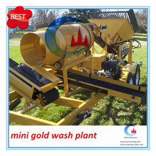 mobile gold roller scrubber washing plant