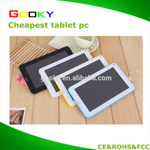 Free sample Build in 2G Android 1024*600 Tablet 7 inch