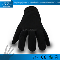Choice material soft leather grip working gloves