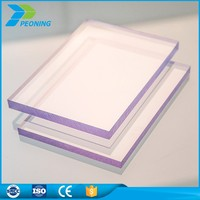 pc rigid sheet flat sheet canopy roofing