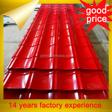 cheap metal roofing sheet for facotry warehouse shed with good prices