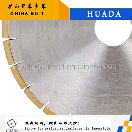 Hot pressed diamond saw blades for Granite cutting