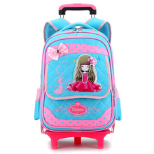 Hot sell fashionable modern and cute school trolley bag
