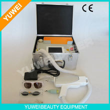 Tattoo removal machine for 1064 nm 532nm nd yag laser