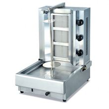 Wooden packing factory price offered stainless steel kebab machine/gas doner kebab machine