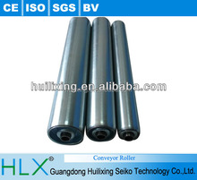 China factory HLX 201,304 s/s gravity stainless steel rollers for food equipment conveyor roller assembly line