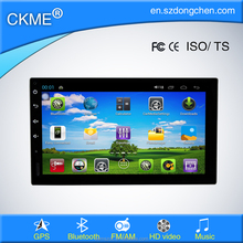 "Hot sall 7"" full touch screen 1024*600 pure android car stereo without dvd fit for universal"