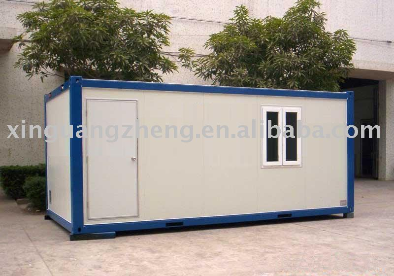 low cost construction site container house
