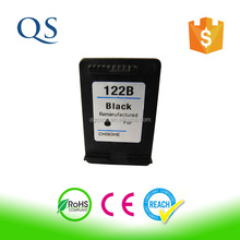 Hot selling Remanufactured inkjet cartridge for HP 122 Ink Cartridge for HP Deskjet 3000 3050a 3052a Printer