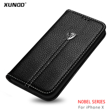 [XUNDD] Premium mobile phone soft protective phone case for iPhone X flip Case Cover