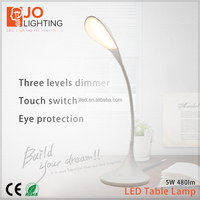 Modern fashion student lamp usb clip laptop led light eye protection with base touch switch