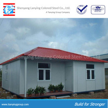High quality prefabricated houses comply with US/EU standard