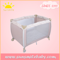 playpen for european standard OEM factory in Shanghai supplying many baby brands