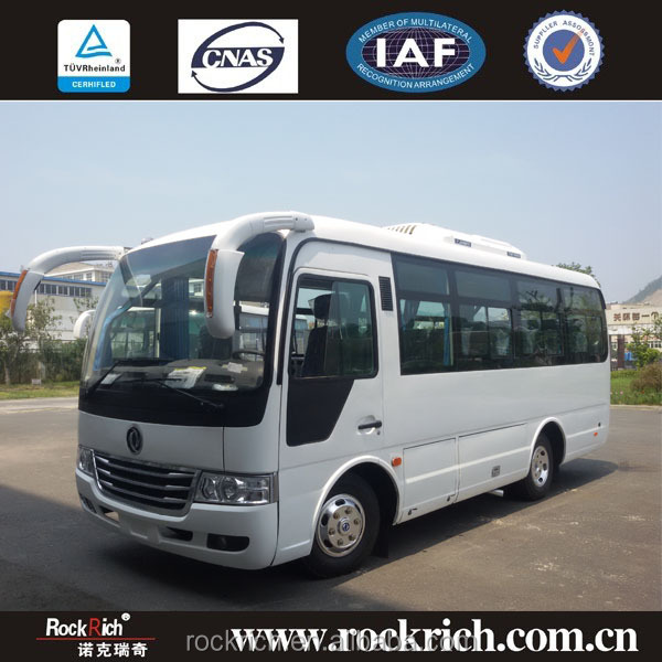 2016 Dongfeng brand new 6.6m Euro3 bus design latest for hot selling