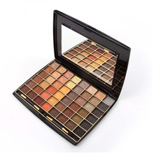 Miss Rose 48 Colors Natural Metallic Eyeshadow Palette matte Earth Color glitter 3D eye shadow pallete maquillage