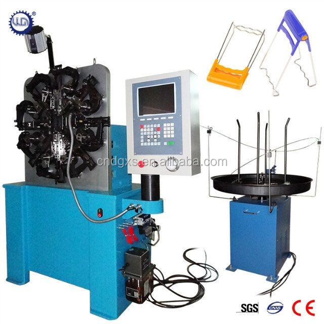 Spring Forming Machine for plate lifting clamp