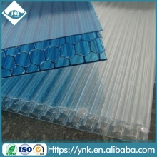 four-wall honeycomb polycarbonate hollow sheet