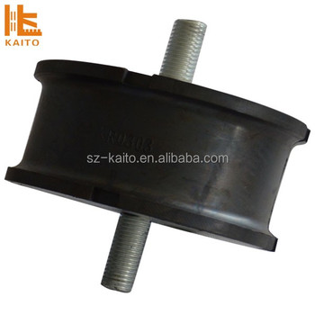 High quality Rubber Mount Rubber shock absorber buffer for Bomag road roller pile driver 06119312,06119393,06119397