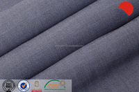 Twill imitation demin double-sided color TR fabric for coat