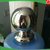 SS304 150mm Polished Decorative Stainless Steel Ball with a Round Base